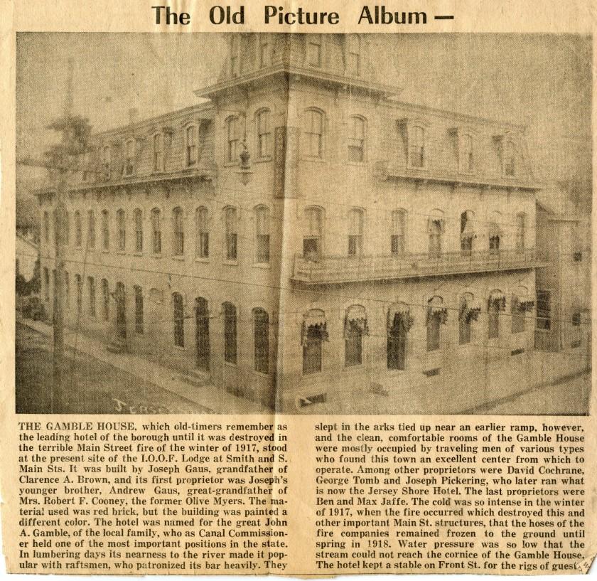 Gamble House history
